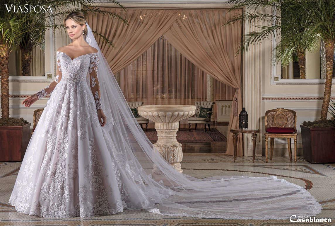 db4c09da5 Vestido de Noiva Casablanca 10   Atelier Fraque & Cia