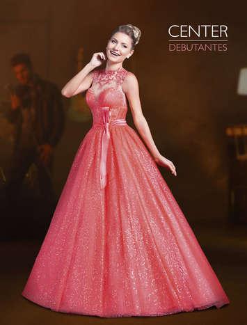 Vestido de Debutante Neon