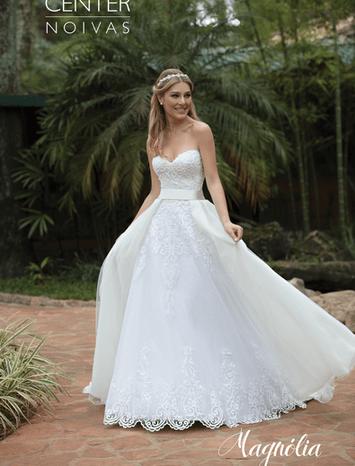 Vestido de Noiva Magnólia 15