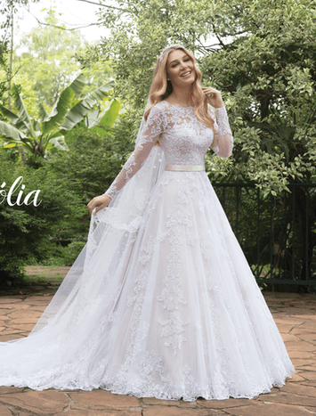Vestido de Noiva Magnólia 16