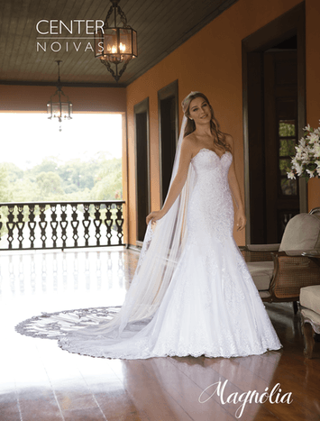 Vestido de Noiva Magnólia 23