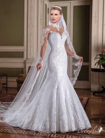 Vestido de Noiva Bromélia 17
