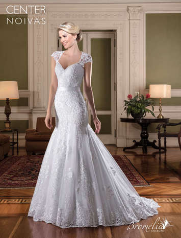 Vestido de Noiva Bromélia 28