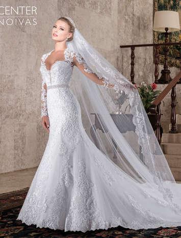 Vestido de Noiva Bromélia CN