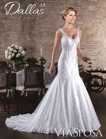 Vestido de Noiva Dallas 14