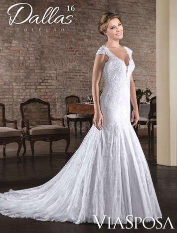 Vestido de Noiva Dallas 16