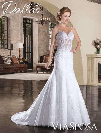 Vestido de Noiva Dallas 20