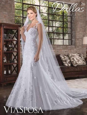 Vestido de Noiva Dallas 26
