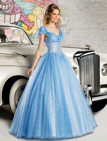 Vestido de Debutante London Street 05