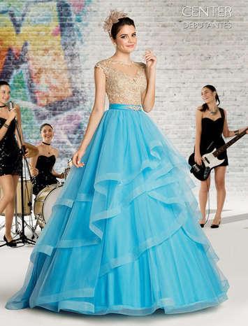 Vestido de Debutante London Street 18