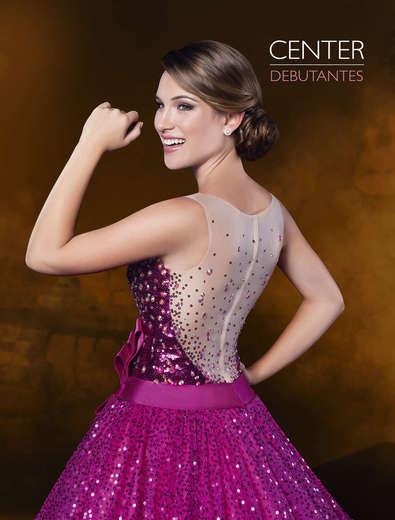 Vestido de Debutante Rosa Pink