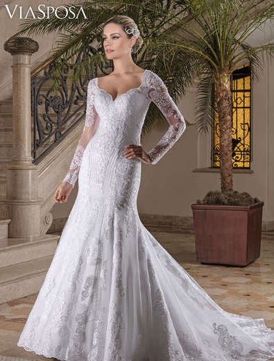 Vestido de Noiva Casablanca 17