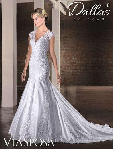 Vestido de Noiva Dallas 08